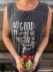 Good Things Stonewash Muscle Tee