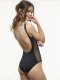 Classic Scoop One Piece - Black Side