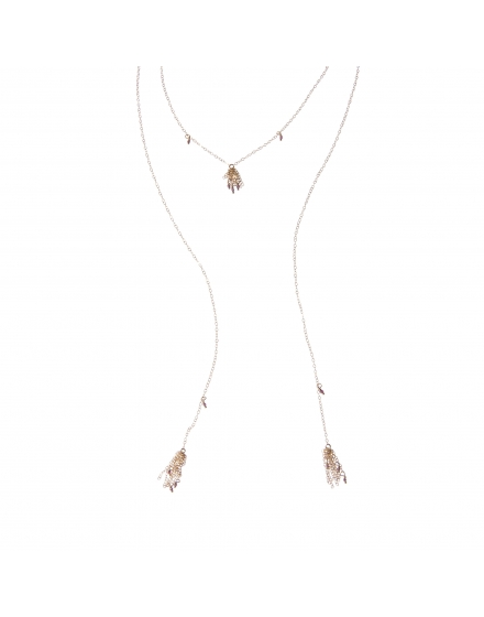 Féminin Necklace + La Loba Necklace Set