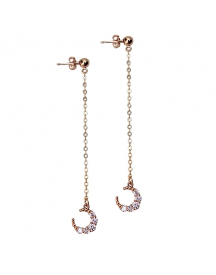 Moondrop Earrings Gold