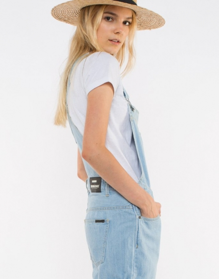 Tania Dungarees 80S Stone Side