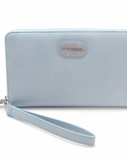 Wallet - Baby Blue & Jeans