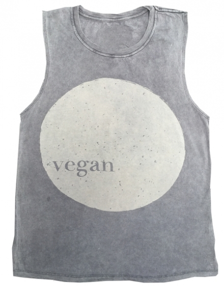 Vegan World Muscle Tee