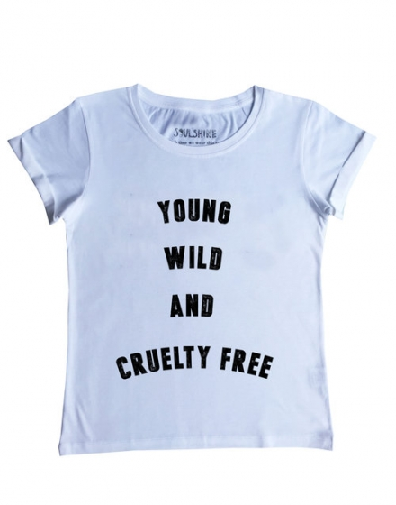 Young Wild White T-Shirt