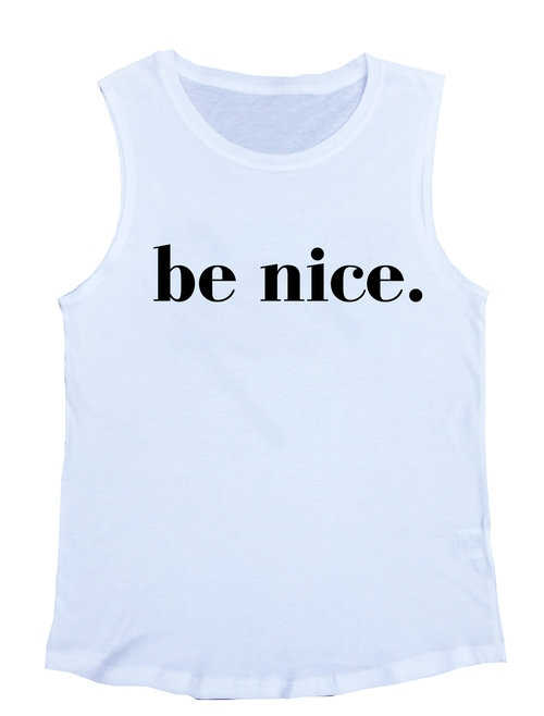 Be Nice White Muscle