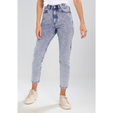 Nora Jeans Tapered Fit - Acid Blue