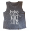Vegan for the Voiceless Muscle Tee Flat