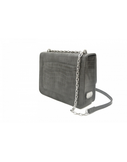 Cruise Bag - Grey Crocco