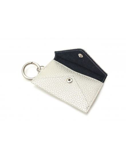 Keyholder Envelope - White Metal