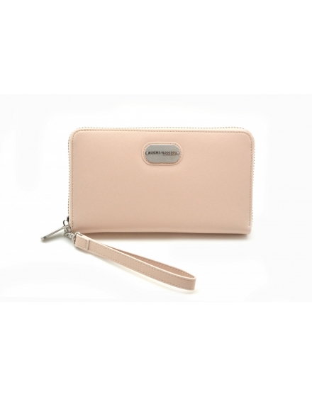 Wallet - Nude  Stripe