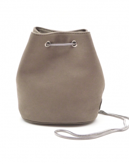 Mini Bucket Bag - Taupe