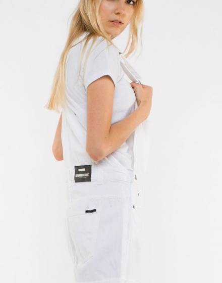 Tania Dungarees White Side